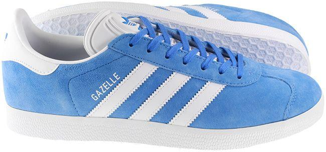 Adidas Trainers Mens Gazelle Real Blue Cloud White