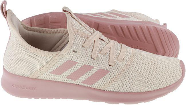 Adidas Trainers Womens Cloudfoam Pure Cream Pink