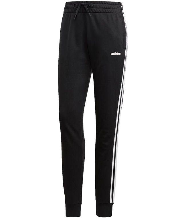 Adidas Womens Essential 3 Stripe Pant Black White