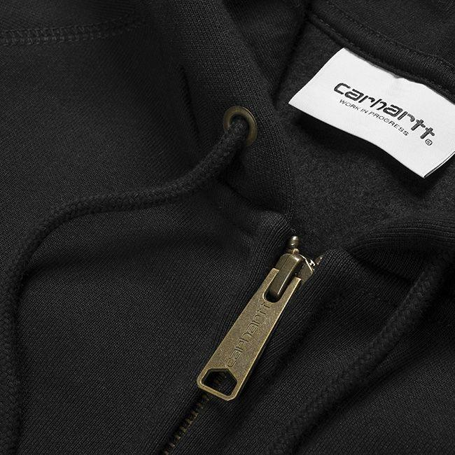 Carhartt Mens Hooded Chase Jacket Black Gold
