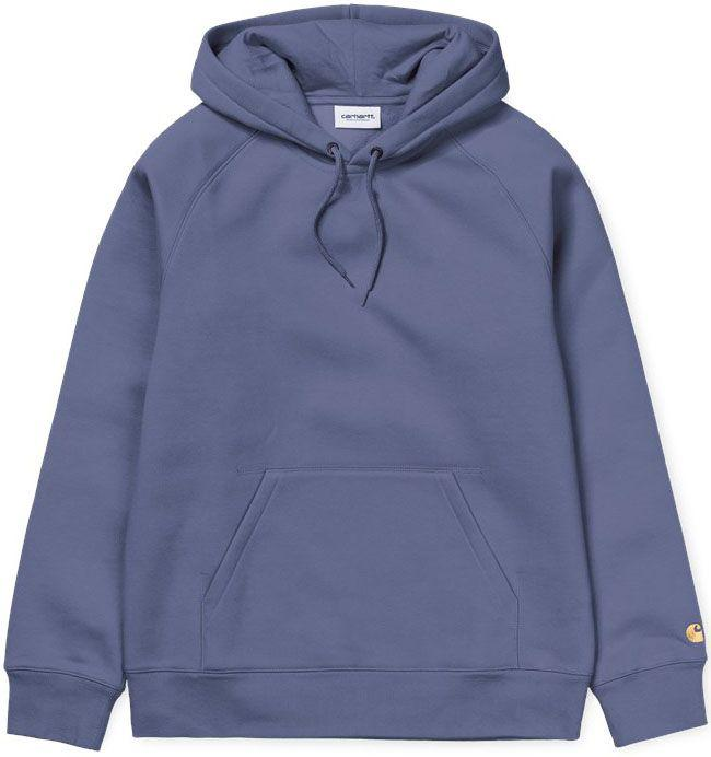 Carhartt WIP Mens Hooded Chase Sweat Cold Viola