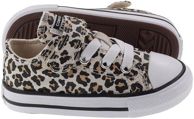 Converse Infants Chuck Taylor All Star Low Top Leopard