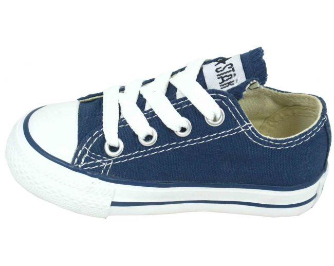 Converse Shoes Infants AllStar Low Navy