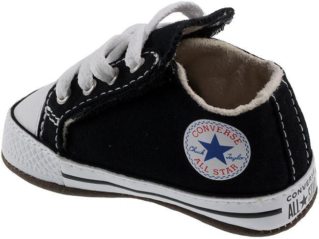 Converse Shoes Infants Chuck Taylor Cribster Mid Black Natural Ivory