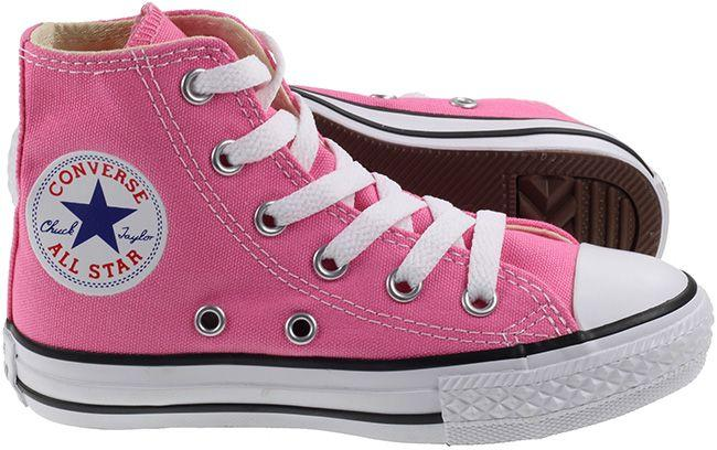 Converse Shoes Kids All Star High Pink
