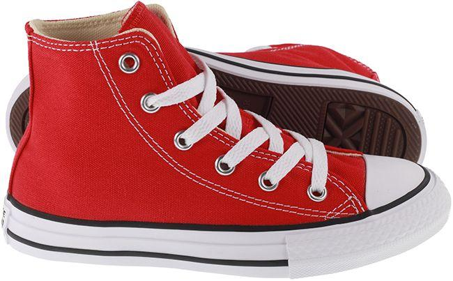 Converse Shoes Kids Chuck Taylor Hi Red