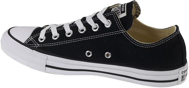 Converse Mens Chuck Taylor All Star Ox Low Black White