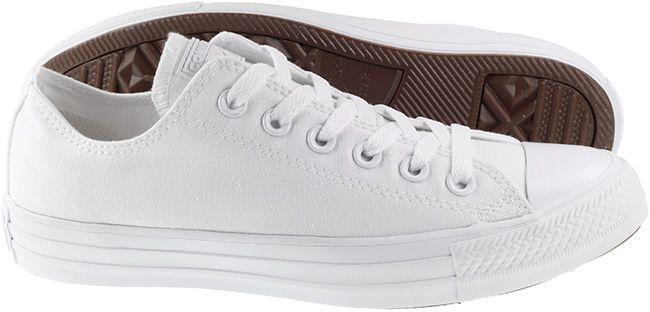 Converse Womens Chuck Taylor All Star Ox Canvas White Mono