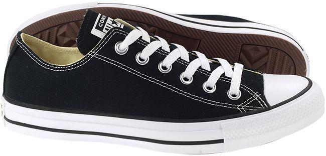Converse Womens Chuck Taylor All Star Ox Low Black White