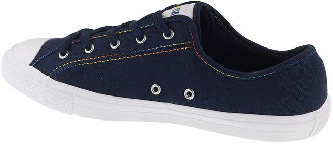 Converse Womens Chuck Taylor Dainty Comfort Obsidian Yellow White