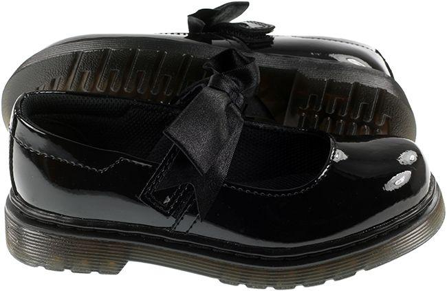 Dr Martens Shoes Kids Maccy II Black Patent