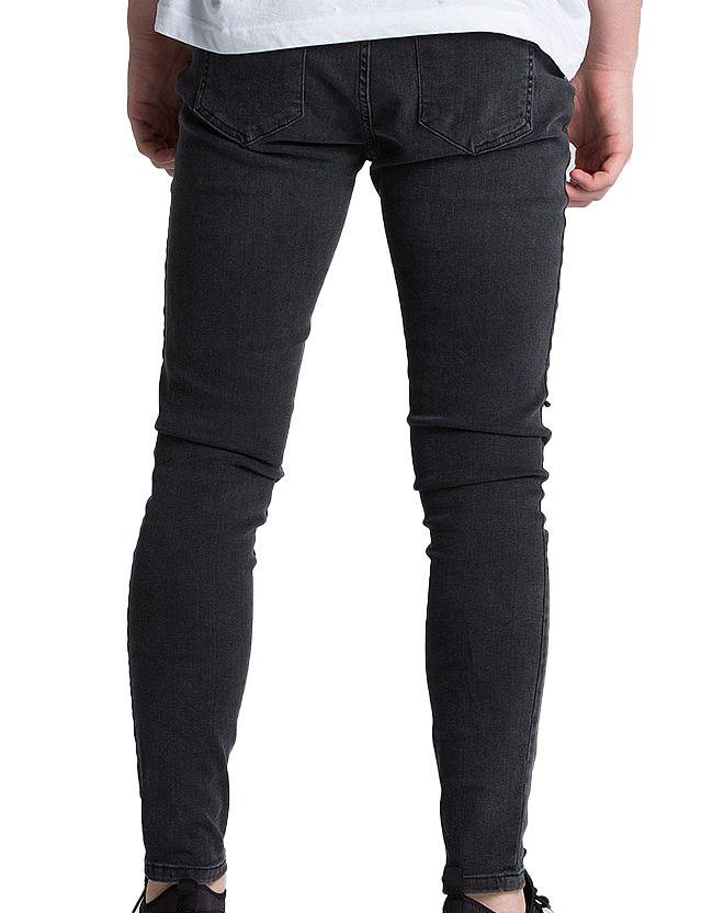 Kings Will Dream Kids Romer Ripped Skinny Denim Jeans Black