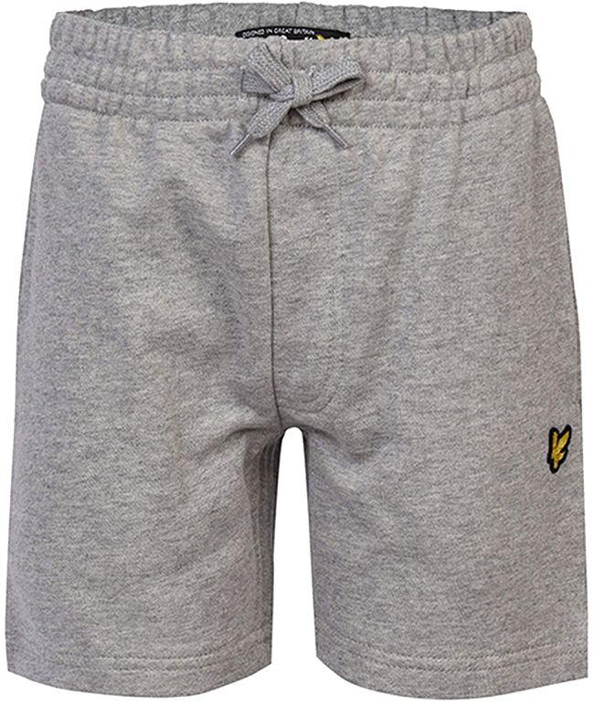 Lyle and Scott Kids Classic Sweat Short Vintage Grey Heather