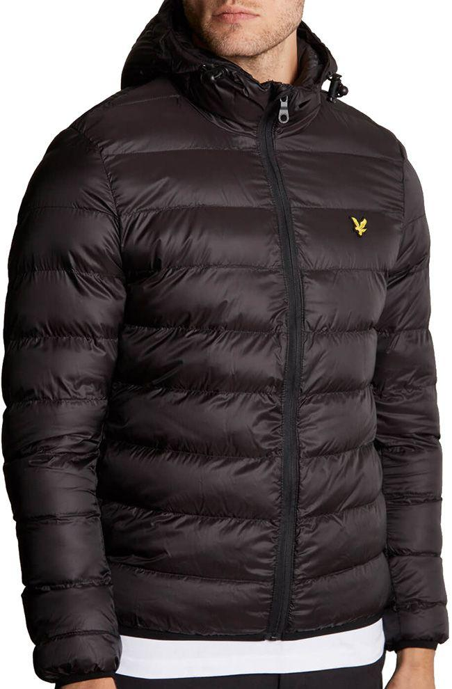 Lyle and Scott Mens Lightweight Puffer Jacket True Black