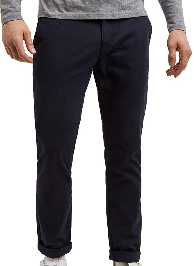 Lyle and Scott Mens Skinny Chino Dark Navy