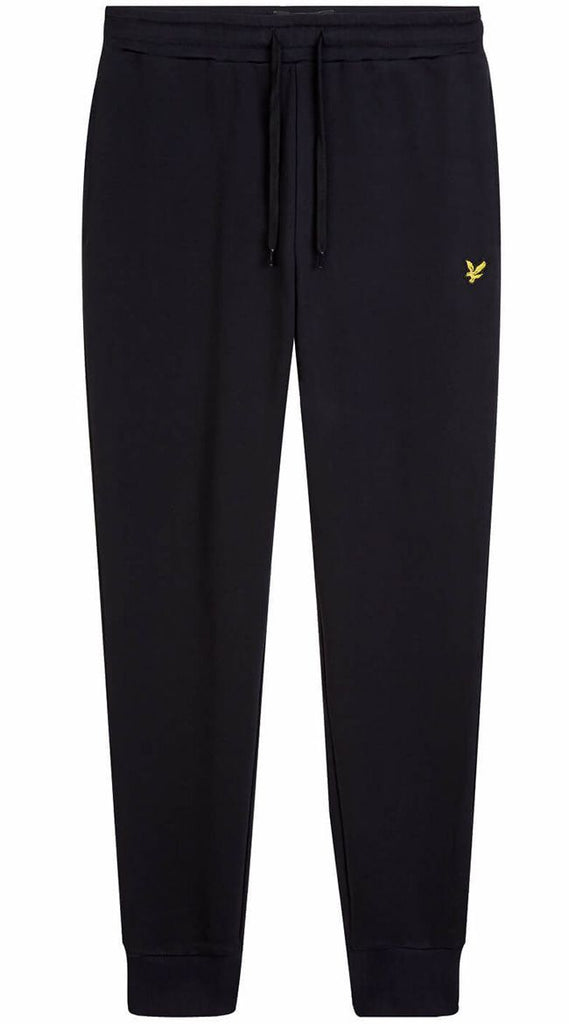 Lyle and Scott Mens Skinny Fit Sweat Pants True Black