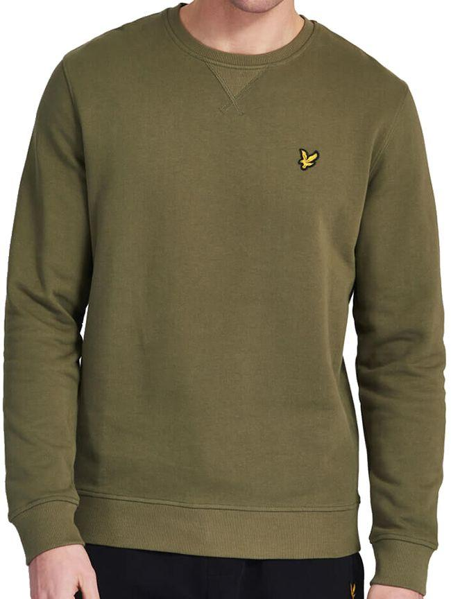Lyle and Scott Mens Sweatshirt Lichen Green
