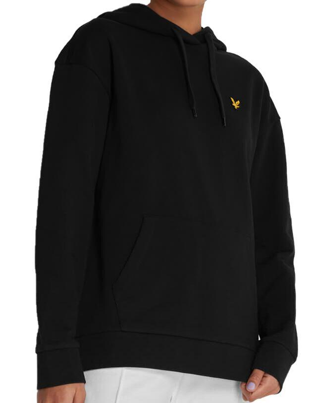 Lyle and Scott Womens Hoodie Jet Black