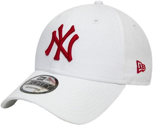 New Era Headwear League Essential 9Forty New York Yankees White Red