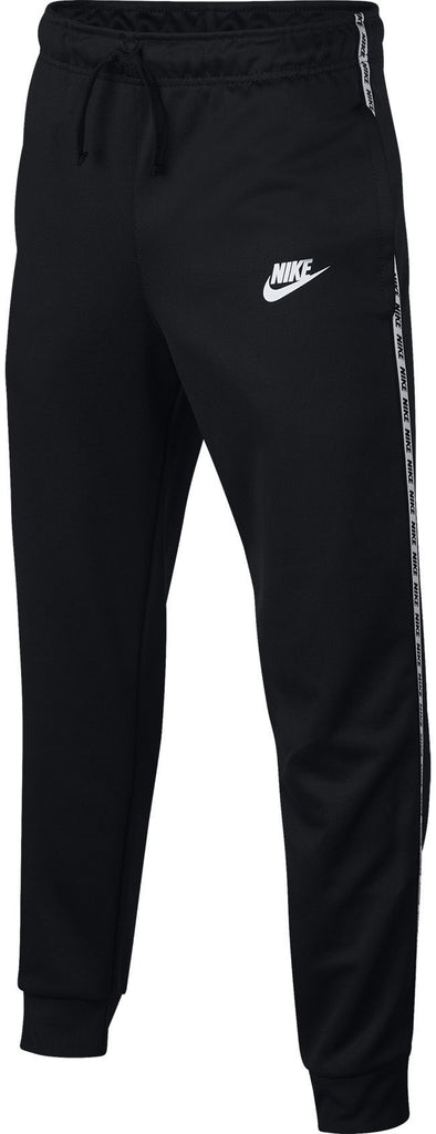 Nike Junior Sportswear Repeat Poly Jog Pant Black White