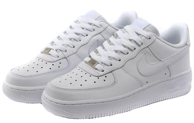 NIKE SHOES JUNIOR AIR FORCE 1 WHITE