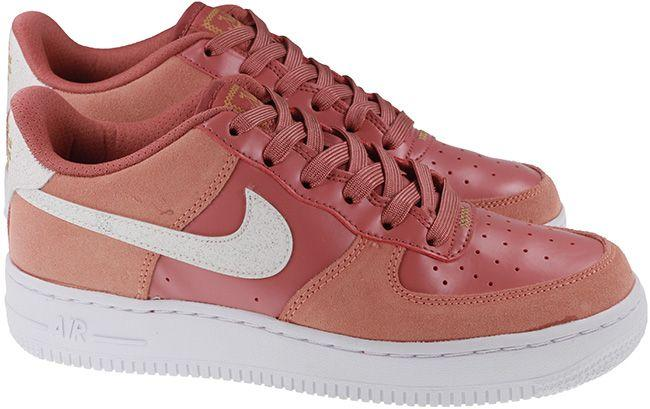 Nike Shoes Juniors Air Force 1 Valentines Day Pink Quartz