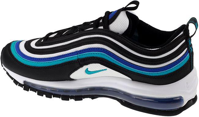 Nike Shoes Juniors Air Max 97 Black Oracle Aqua White Hyper Blue