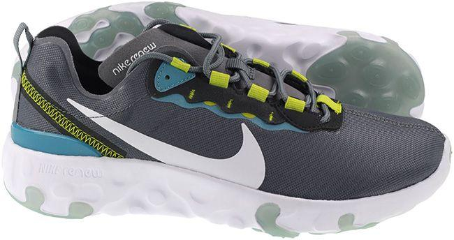 Nike Shoes Juniors Renew Element 55 Smoke Grey White Cactus