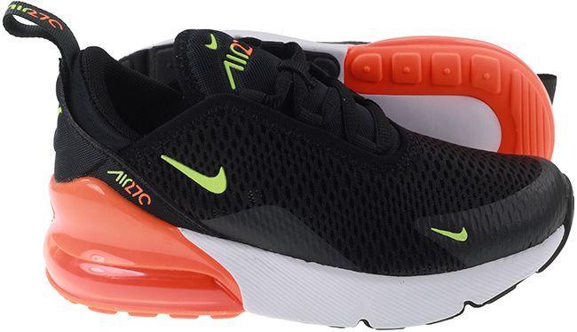 Nike Shoes Kids Air Max 270 Black Ghost Green