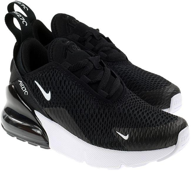 Nike Shoes Kids Air Max 270 Black White Anthracite
