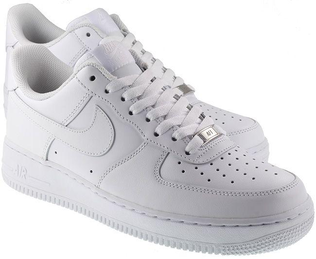 Nike Shoes Mens Air Force 1 White White
