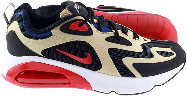 Nike Shoes Mens Air Max 200 Team Gold University Red Black White