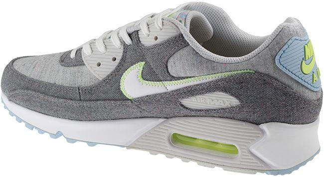 Nike Shoes Mens Air Max 90 NRG Vast Grey White Barely Volt