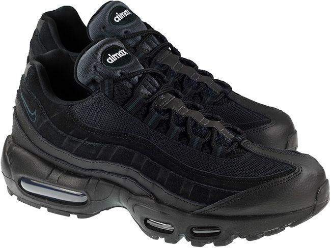 Nike Shoes Mens Air Max 95 Essential Black Black Anthracite White