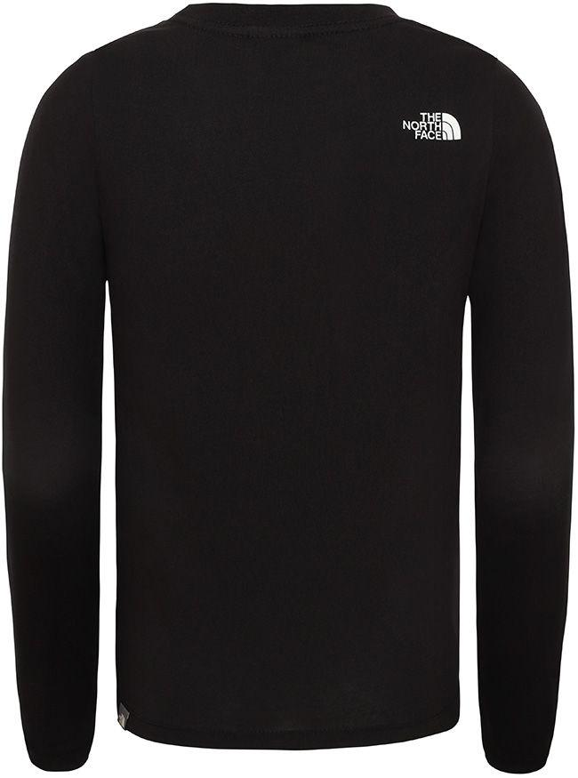 The North Face Juniors Easy T Shirt TNF Black White