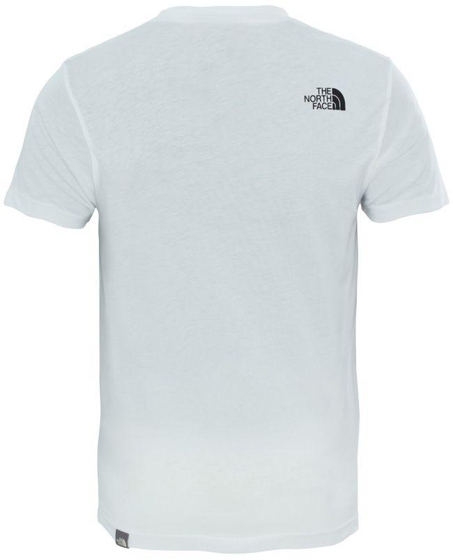 The North Face Kids Simple Dome T Shirt White Black
