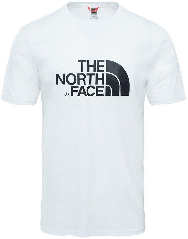 The North Face Mens Easy T Shirt White Black