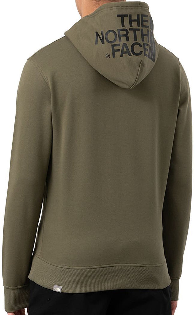 The North Face Mens Seasonal Drew Peak Pullover Hoodie Burnt Olive