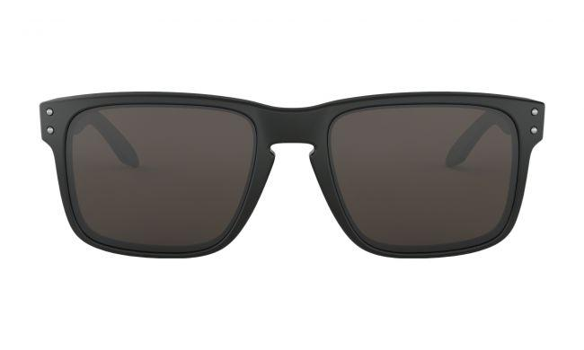 Oakley Mens Sunglasses Holbrook Matte Black Warm Grey
