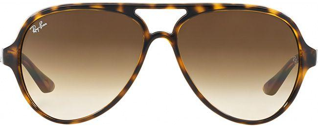 Ray-Ban Sunglasses Cats 5000 Light Havana Crystal Brown Gradient