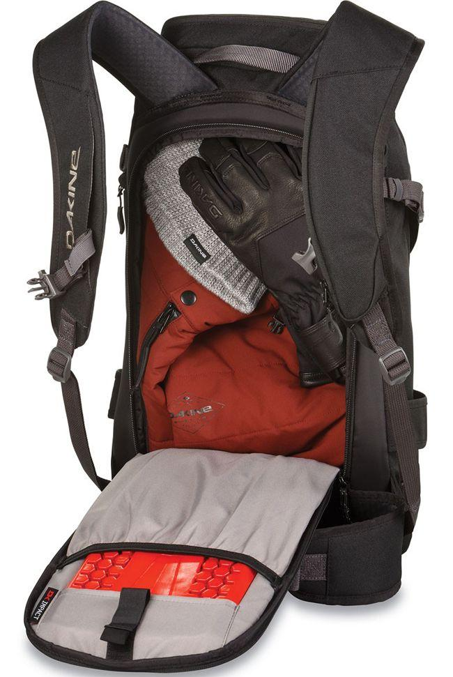 Dakine Mens Heli Pro 24 Litre Backpack Black