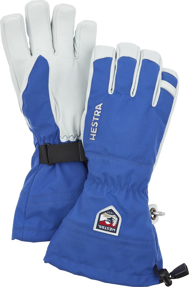Hestra Ski Gloves Army Leather Heli Ski Royal Blue I Landau