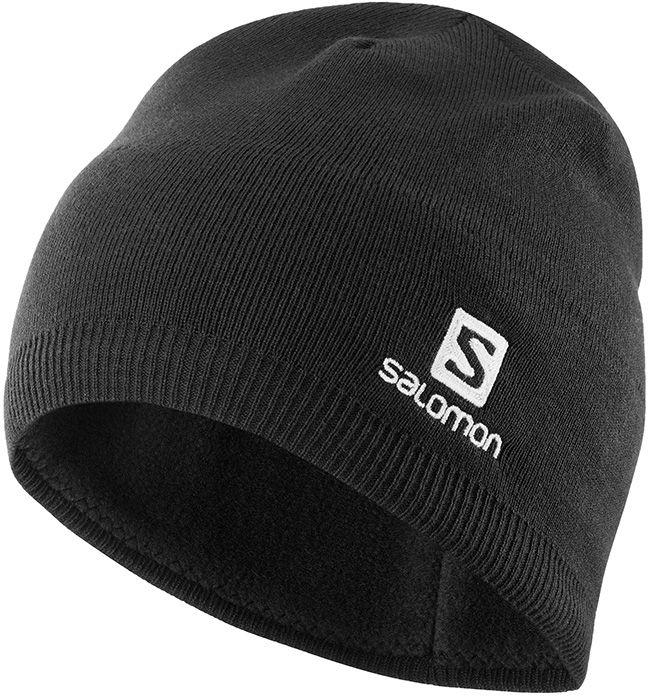 Salomon Mens Beanie Black