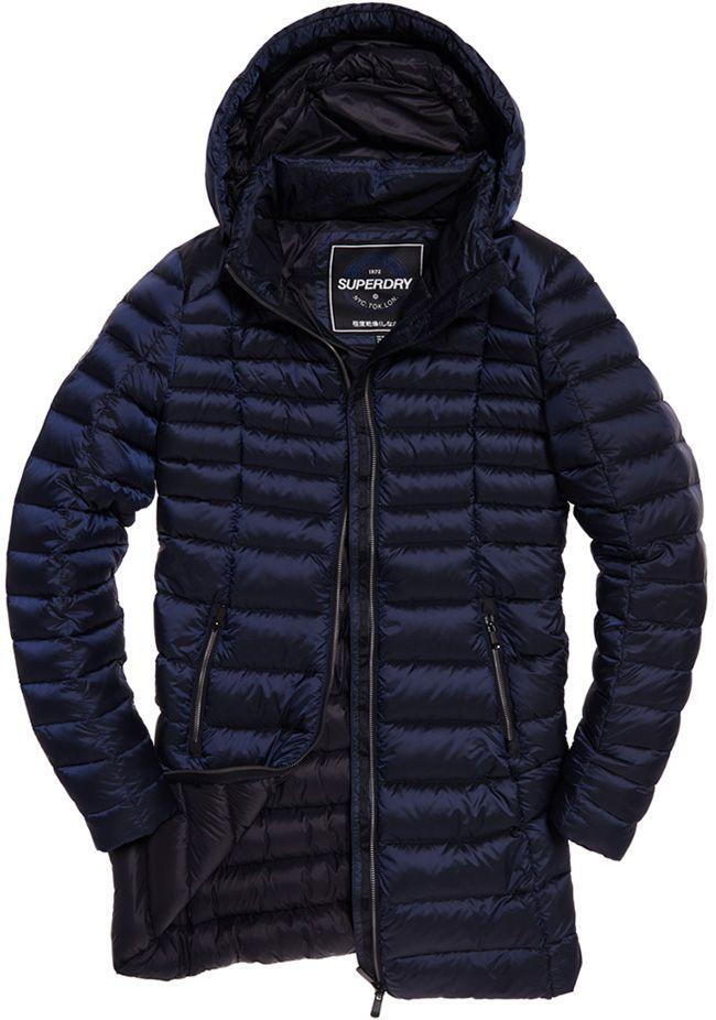Superdry Womens Blisse Down Parka Luxe Navy
