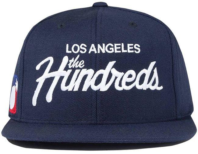 The Hundreds Accessories Forever Team Snapback Navy