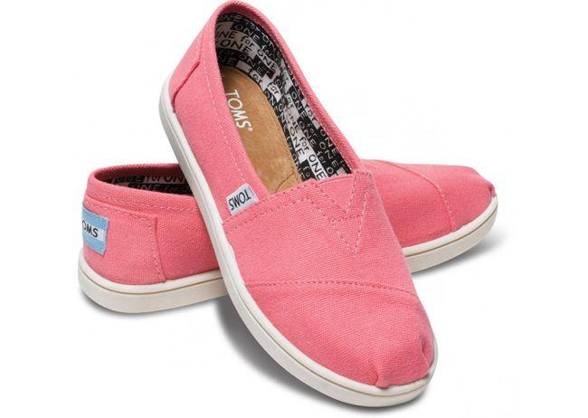 Toms Shoes for Kids Pink Supporting the