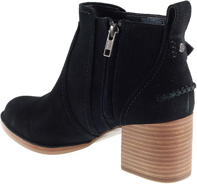 Ugg Boots Womens Leahy Ankle Boot Black