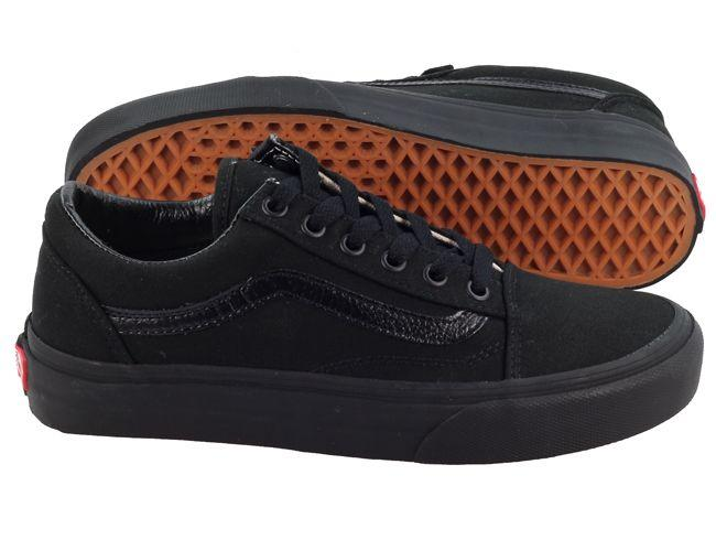 Vans Trainers Womens Old Skool Black