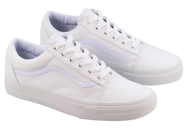Vans Trainers Womens Old Skool White