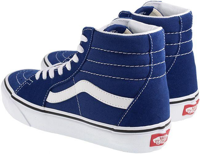 Vans Trainers Womens SK8 Hi Estate Blue